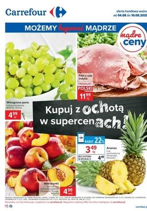 Gazetka promocyjna Carrefour - Kupuj z ochotą w Carrefour