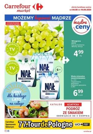 Gazetka promocyjna Carrefour Market - Kupuj mądrze w Carrefour Market!