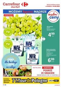 Gazetka promocyjna Carrefour Market - Kupuj mądrze w Carrefour Market! - ważna do 14-08-2020