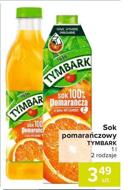 Sok pomarańczowy Tymbark
