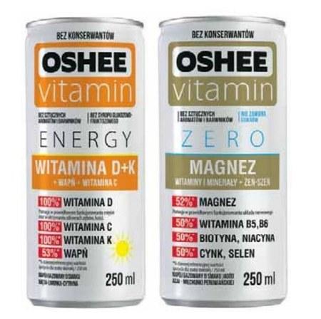 Napój energetyczny Oshee