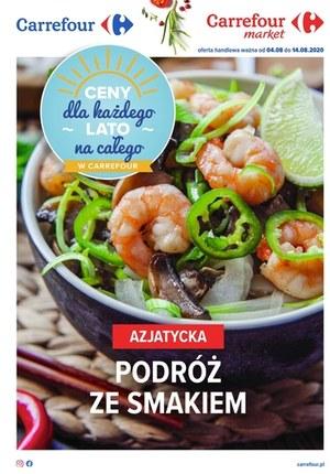 Gazetka promocyjna Carrefour - Azjatyckie smaki w Carrefour