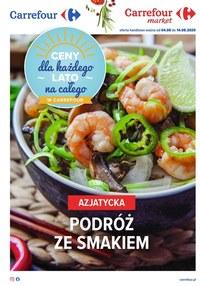 Gazetka promocyjna Carrefour - Azjatyckie smaki w Carrefour - ważna do 14-08-2020