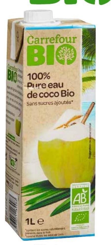 Woda kokosowa Carrefour