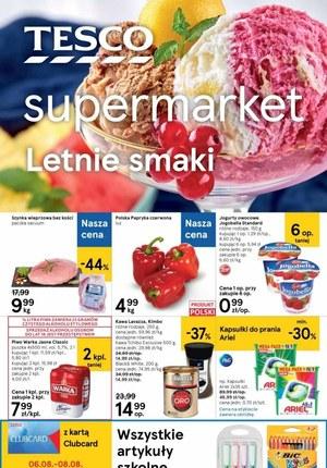 Gazetka promocyjna Tesco Supermarket - Letnie smaki w Tesco Supermarket