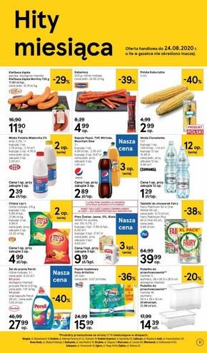 Letnie smaki w Tesco Supermarket