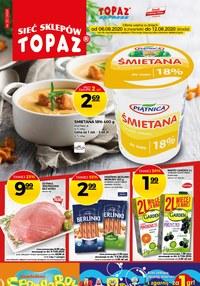 Gazetka promocyjna Topaz - Promocji bez liku w Topaz - ważna do 12-08-2020