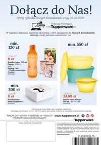 Gazetka promocyjna Tupperware - Tupperware - dla Ciebie, dla zdrowia, dla środowiska