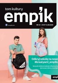 Gazetka promocyjna EMPiK - Tom kultury Empik - ważna do 11-08-2020