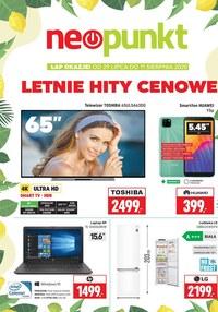 Gazetka promocyjna NEOPUNKT - Letnie hity cenowe w Neopunkt! - ważna do 11-08-2020