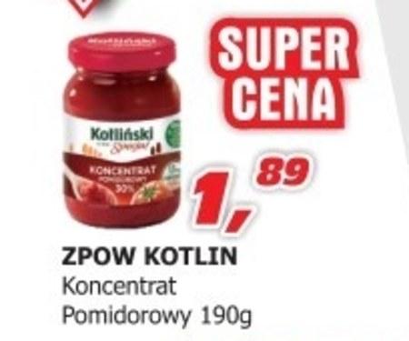 Koncentrat pomidorowy Kotlin