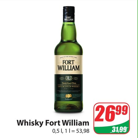 Whiskey Fort William
