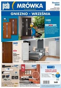 Gazetka promocyjna PSB Mrówka - PSB Mrówka Gniezno - ważna do 22-08-2020