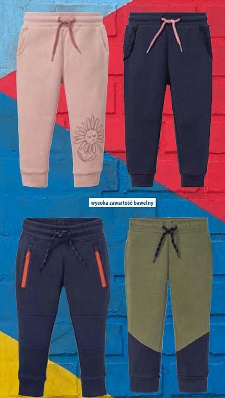 Spodnie dresowe Lupilu