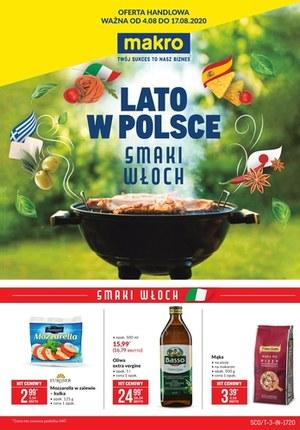 Gazetka promocyjna Makro Cash&Carry - Smaki Włoch w Makro