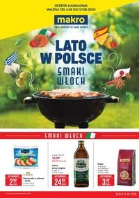 Gazetka promocyjna Makro Cash&Carry - Smaki Włoch w Makro - ważna do 17-08-2020