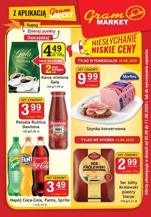 Gazetka promocyjna Gram Market - Niskie ceny w Gram Market