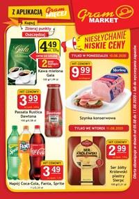 Gazetka promocyjna Gram Market - Niskie ceny w Gram Market - ważna do 11-08-2020