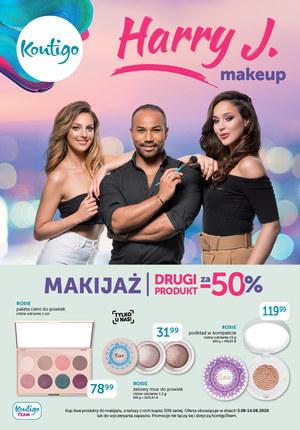 Gazetka promocyjna Kontigo - Makijaż 50% taniej w Kontigo