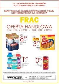 Gazetka promocyjna FRAC - Oferta handlowa Frac - ważna do 08-08-2020