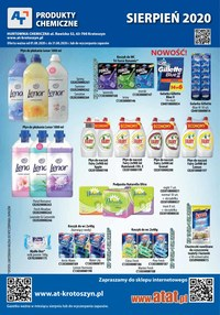 Gazetka promocyjna At - At - chemia, kosmetyki - ważna do 31-08-2020