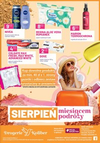 Gazetka promocyjna Drogerie Koliber - Miesiąc podróży w Drogerii Koliber - ważna do 31-08-2020