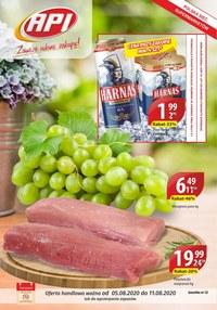 Gazetka promocyjna Api Market - Promocje w Api Market - ważna do 11-08-2020