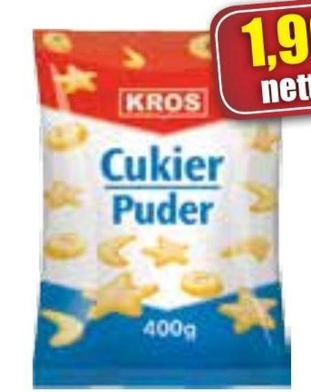 cukier puder Kros
