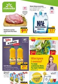 Gazetka promocyjna Stokrotka Supermarket - Stokrotka Market - nowe promocje! - ważna do 12-08-2020