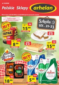 Gazetka promocyjna Arhelan - Świeże produkty w Arhelan!  - ważna do 14-08-2020