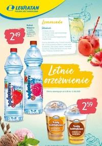 Gazetka promocyjna Lewiatan - Letnie orzeźwienie w Lewiatanie - ważna do 12-08-2020