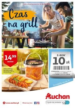 Czas na grill w Auchan