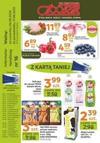 Gazetka promocyjna PSS Społem Częstochowa - Z kartą Społem taniej!  - ważna do 17-08-2020