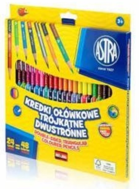 Kredki ołówkowe Astra