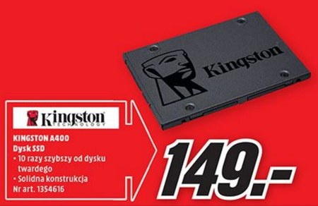 Dysk ssd Kingston