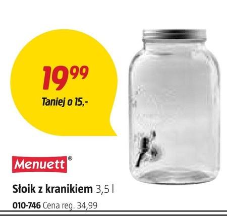 Słoik Menuett