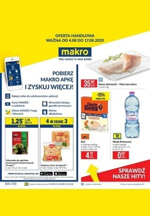 Gazetka promocyjna Makro Cash&Carry - Zyskuj więcej z aplikacją Makro!