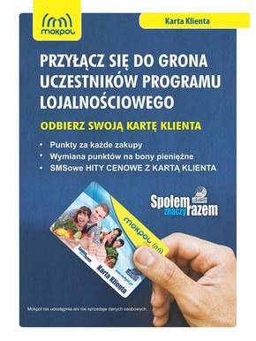 Gazetka promocyjna Mokpol