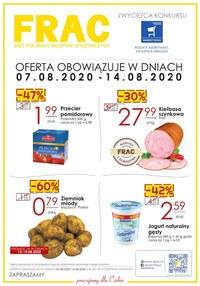 Gazetka promocyjna FRAC - FRAC - oferta handlowa - ważna do 14-08-2020
