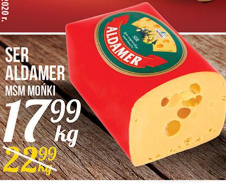 Ser żółty MSM Mońki