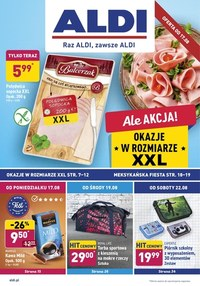 Gazetka promocyjna Aldi - Okazje w rozmiarze XXL! - ważna do 22-08-2020