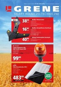 Gazetka promocyjna Grene - Grene - części do maszyn rolniczych - ważna do 28-08-2020