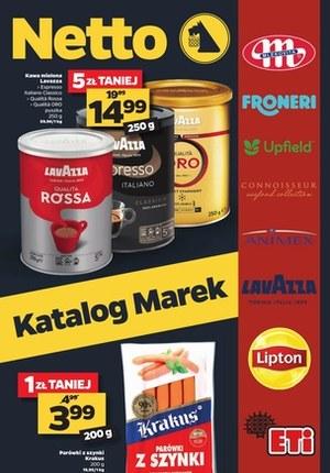 Gazetka promocyjna Netto - Katalog marek Netto