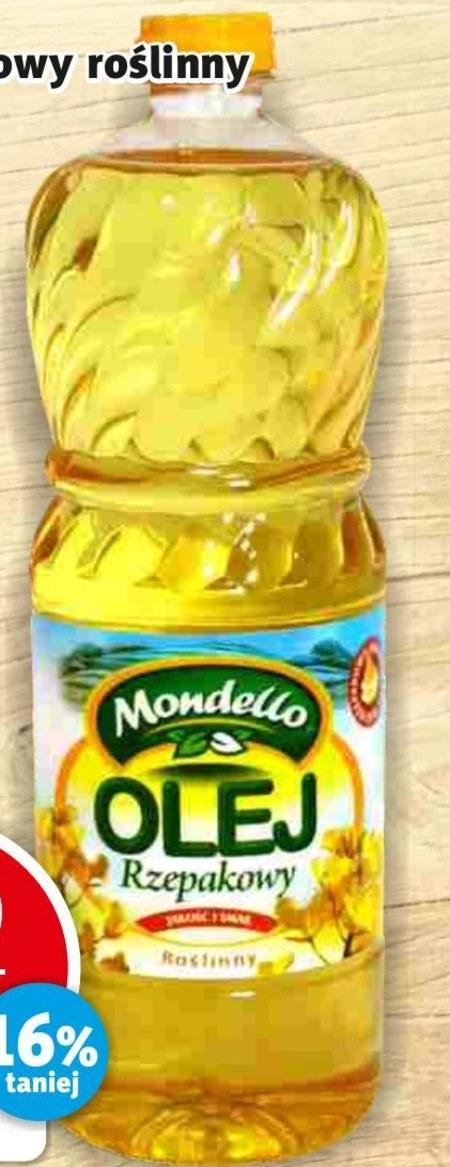 Olej rzepakowy Mondello