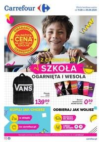 Gazetka promocyjna Carrefour - Powrót do szkoły z Carrefour - ważna do 05-09-2020