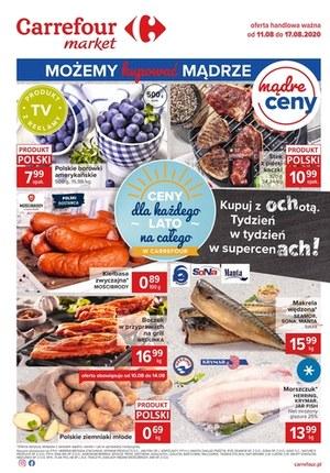 Gazetka promocyjna Carrefour Market - Kupuj z ochotą w Carrefour Market
