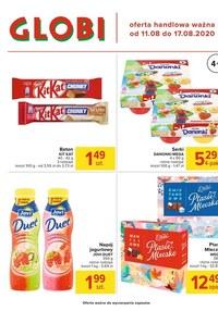 Gazetka promocyjna Globi - Oferta spożywcza w Globi - ważna do 17-08-2020