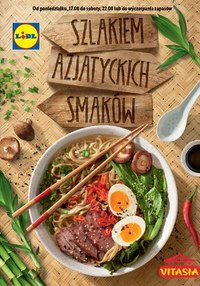Gazetka promocyjna Lidl - Szlakiem azjatyckich smaków - ważna do 22-08-2020