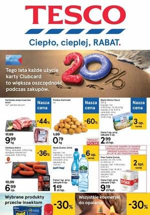 Gazetka promocyjna Tesco Centra Handlowe - Rabaty w Tesco!