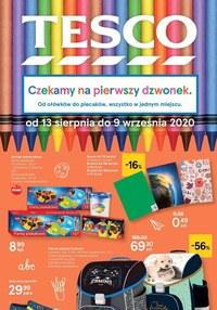 Gazetka promocyjna Tesco Centra Handlowe - Tesco czeka na pierwszy dzwonek!  - ważna do 09-09-2020